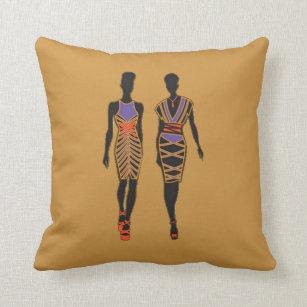 Afrocentric Pillows Decorative Amp Throw Pillows Zazzle