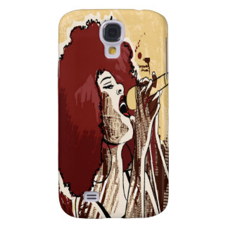 Afrocentric Singer - Samsung Galaxy S4 Case