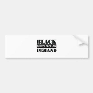 Afrocentric tee bumper sticker