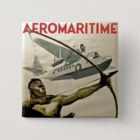 Afromaritime Pinback Button