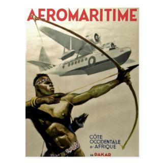 Afromaritime Post Card
