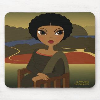 Afro'na Lisa Mousepad