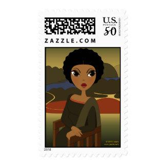 Afro'na Lisa Postage