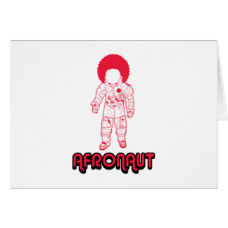 Afronaut Card