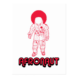 Afronaut Postcard