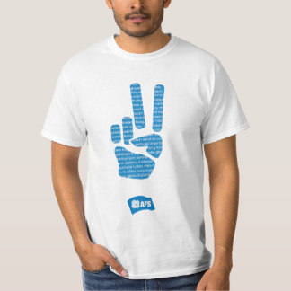 AFS Peace Sign Men's T Shirt
