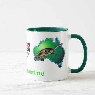AFT Coffee Mug -New Logo & Turtles are addictive