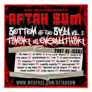 Aftah Sum - Bottom of the Bay Vol. 2 POSTER