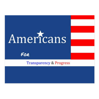AFTAP fundraising postcard