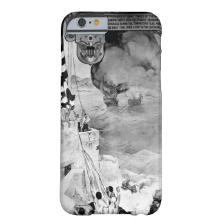 After a bombardment of Tripoli, a landing party wi Barely There iPhone 6 Case