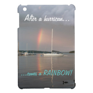 After a hurrican comes a rainbow! iPad mini covers