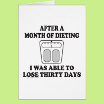 AFTER A MONTH OF DIETING T-SHIRTS AND GIFTS CARD