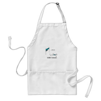 After a Race Adult Apron