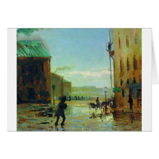 After a Rain (Spring in St. Petersburg) by Fyodor Card