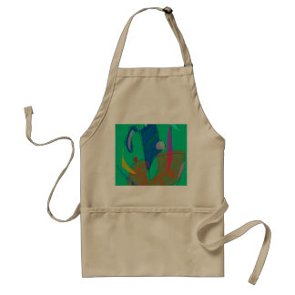 After a While Adult Apron