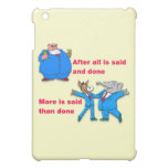 After all is said and done iPad mini covers