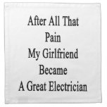 After All That Pain My Girlfriend Became A Great E Cloth Napkin