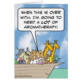 After Arc, Noah will need a lot of aromatherapy Card