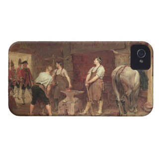 After Culloden: Rebel Hunting (oil on canvas) iPhone 4 Cover
