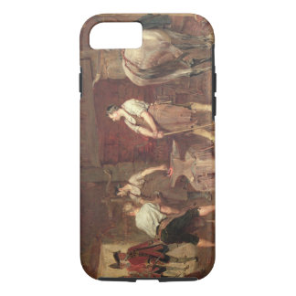 After Culloden: Rebel Hunting (oil on canvas) iPhone 8/7 Case