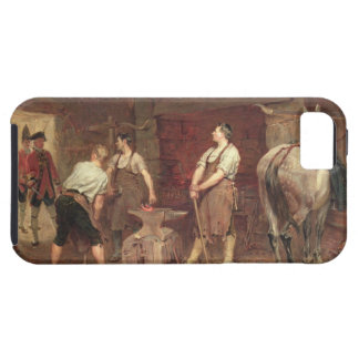 After Culloden: Rebel Hunting (oil on canvas) iPhone SE/5/5s Case