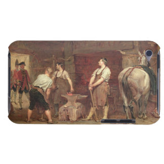 After Culloden: Rebel Hunting (oil on canvas) iPod Touch Cover
