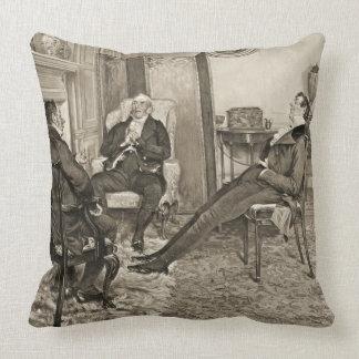 After Dinner 1905 Throw Pillow