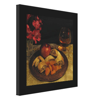 After Dinner Canvas Print