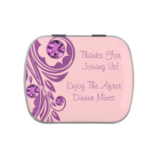 After Dinner Party Wedding Mints Jelly Belly Tin
