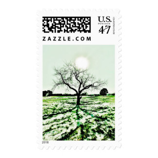 """After Frost"" JTG Art Postage Stamp"