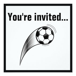 After-Game Soccer Party Invitation