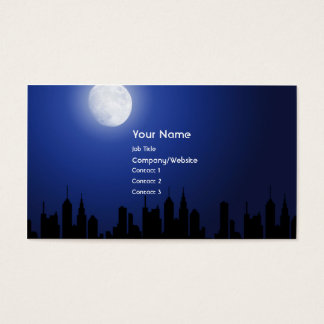 After Hours Business Card