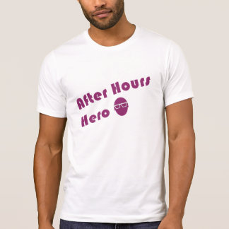 After Hours Hero Hipster Guy T-Shirt