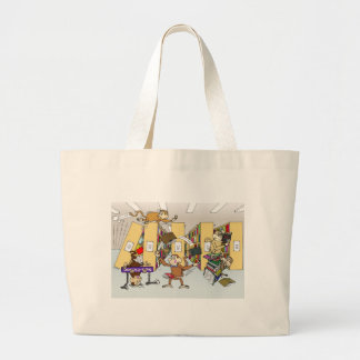 After hours large tote bag