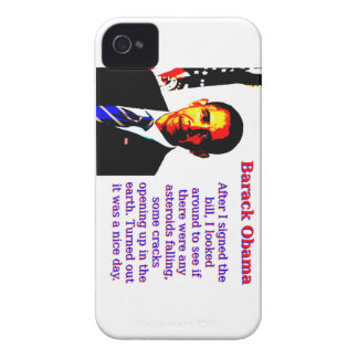 After I Signed The Bill - Barack Obama Case-Mate iPhone 4 Case