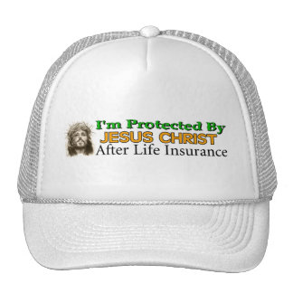 After Life Insurance Mesh Hat