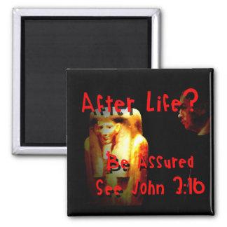 After Life? John 3:16 Refrigerator Magnet