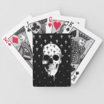 After Market, gothic skull with crosses Playing Cards