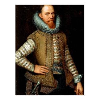 (after) Michiel Jansz van Mierevelt: Maurice of Na Postcard