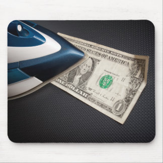 After money laundry mouse pad