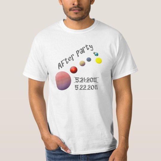 After Party - Rapture - Planetary Alignment T-Shirt