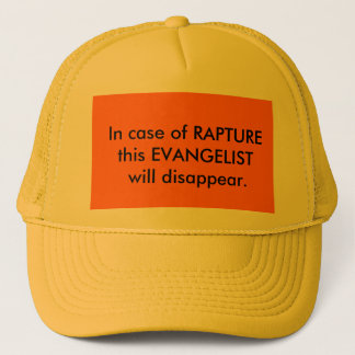 After Rapture Evangelist Hat