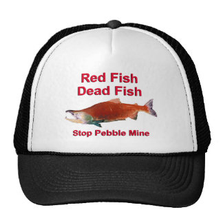 After Salmon - Stop Pebble Mine Mesh Hats