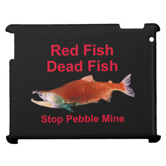 After Salmon - Stop Pebble Mine iPad Covers