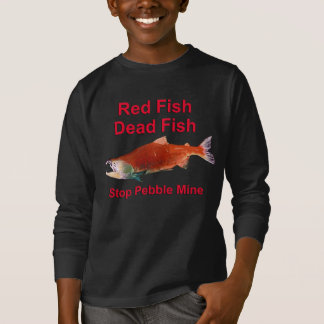 After Salmon - Stop Pebble Mine T-Shirt
