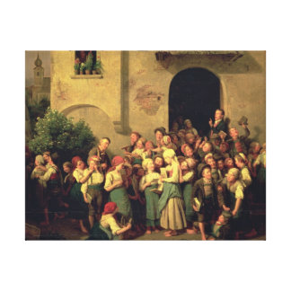 After School, 1844 Gallery Wrapped Canvas