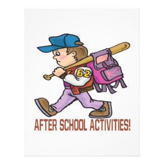 After School Activities Flyer