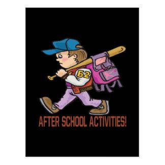 After School Activities Postcard