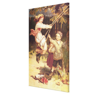 After School Canvas Print
