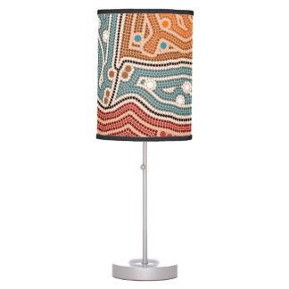 After settlement desk lamp